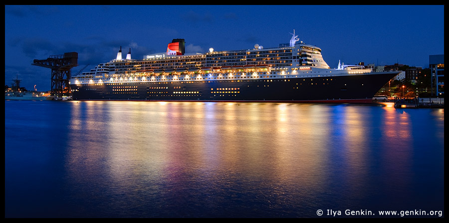 RMS Queen Mary 2, Sydney, NSW, Australia