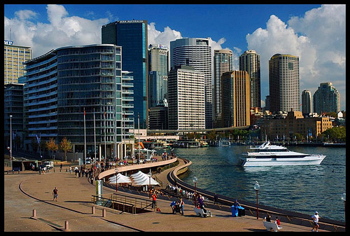 Sydney City and Circular Quay, Sydney, New South Wales, Australia