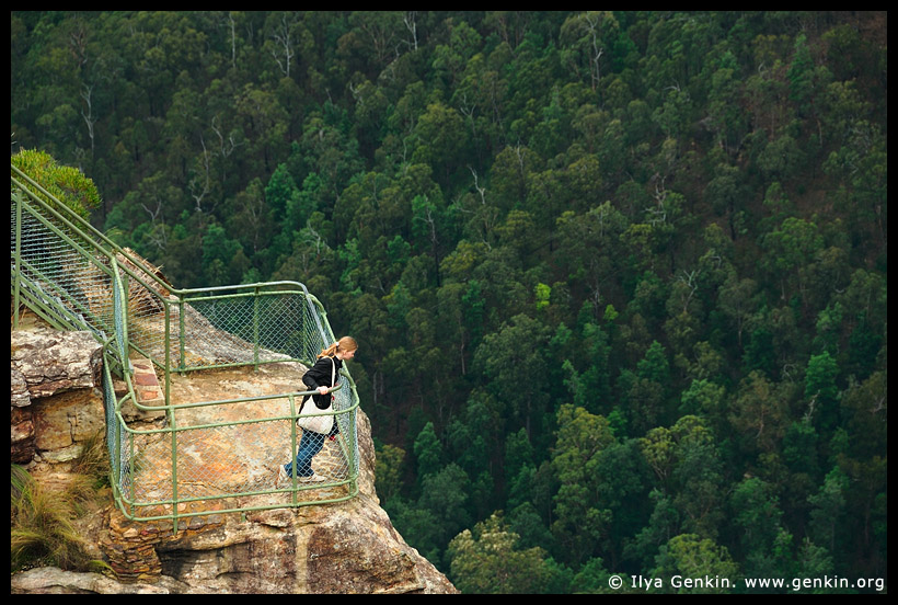 Pulpit Rock Lookout, Grose Valley, Blue Mountains, NSW, Australia